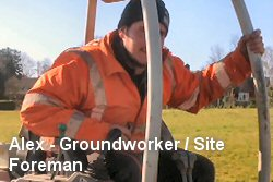 Alex - Groundworker / Site Foreman