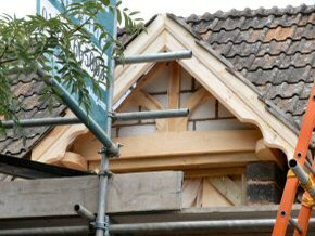 Installation of a Dormer Window to Attic Room